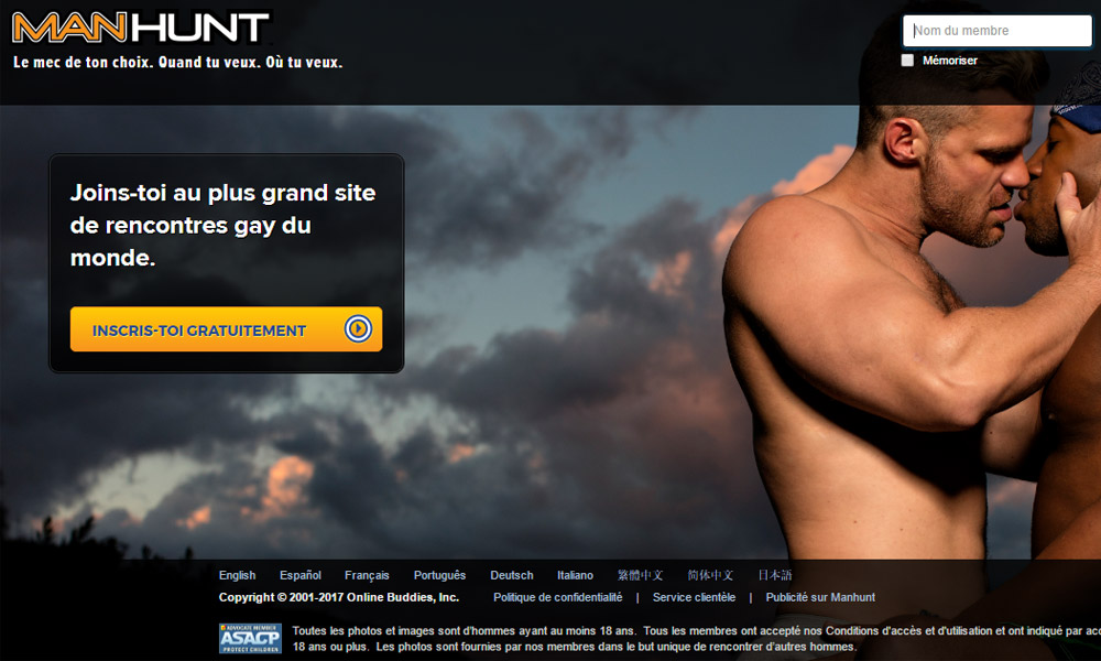 Site de rencontre gay manhunt