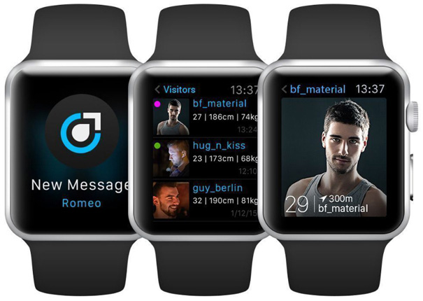 planetromeo apple watch