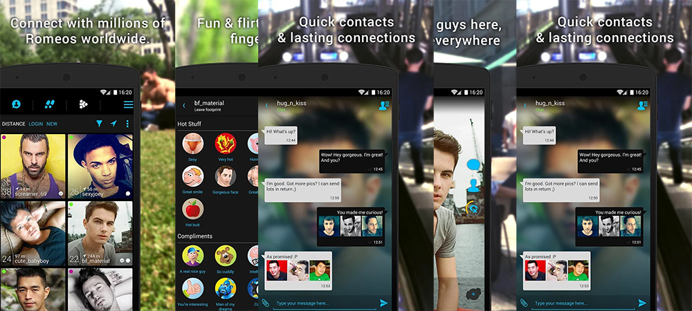 application planetromeo